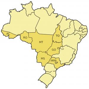 mapa jurisdição COREM 4R